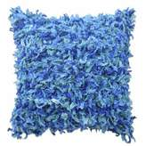 Blissliving Home Bidisha 16-Inch Square Throw Pillow in Blue