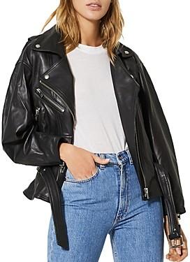 IRO Ikem Leather Motorcycle Jacket