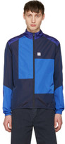Noah Nyc Navy Patchwork Track Jacket