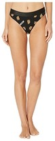 Moschino All Over Bear Jersey Brief (Black Multi) Women's Underwear