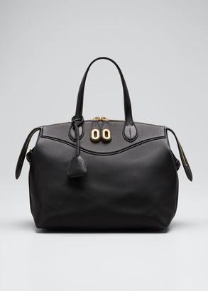 Ralph Lauren Collection Voyager Medium Top Handle Satchel Bag