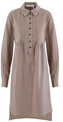 See by Chloe Houndstooth dress