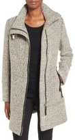 Calvin Klein Women's Wool Blend Boucle Walking Jacket