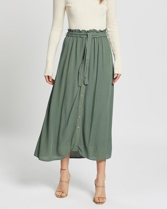 Vero Moda Naomi Paperbag Ankle Skirt
