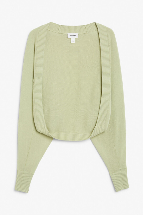 Thumbnail for your product : Monki Knitted bolero cardigan