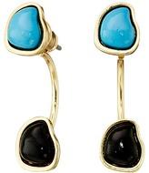 Sam Edelman Two Stone Floater Earrings