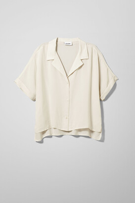 Weekday Gemma Shirt - Beige