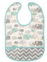 Kushies Elephants Cleanbib in White