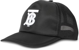 Burberry Monogram-Embroidered Baseball Cap