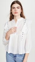 Bohemia Alix Of June Ruffle & Ribbon Shirt
