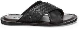 Bottega Veneta Sapa Criss Cross Sandals