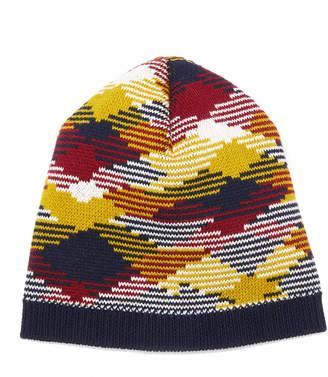 Missoni Intarsia-Knit Wool Beanie