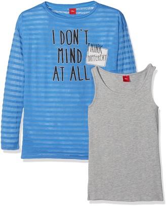 S'Oliver Girl's 66.707.31.6965 Longsleeve T-Shirt