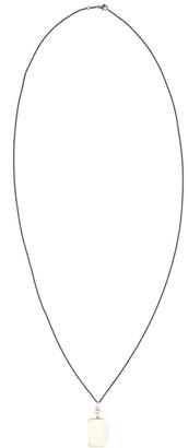 Monica Rich Kosann 18kt yellow gold Deco rectangular locket necklace