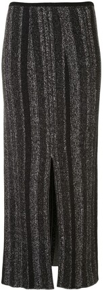 Proenza Schouler Ottoman Knit Midi Skirt