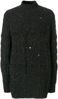 Damir Doma contrast knit sweater