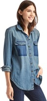 Gap 1969 Denim Utility Shirt