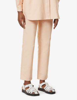 Loewe x Ken Price La Palme straight high-rise jeans