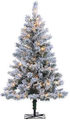 Sterling Tree Company 4Ft Flocked Colorado Spruce