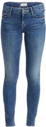 Mother The Looker High-Rise Ankle Skinny Jeans