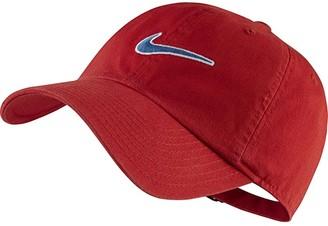Nike H86 Essential Swoosh Cap (University Red/Industrial Blue) Caps