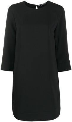 Ermanno Scervino Round Neck Mini Dress