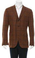 Michael Bastian Three-Button Wool Blazer