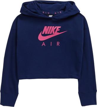 Nike Sportswear Air Logo Crop Hoodie
