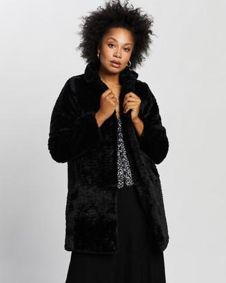 Dorothy Perkins Funnel Collar Coat