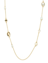 The Limited Delicate Bead and Metal Necklace