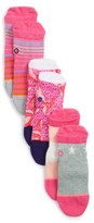 Stance Infant Girl's Purdy Assorted 3-Pack Socks