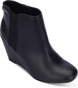 Kenneth Cole Reaction Women Marcy Wedge Booties Women Shoes