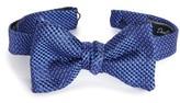 David Donahue Men's Geometric Silk Bow Tie