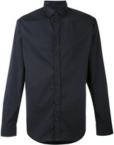 Armani Collezioni simple shirt - men - Cotton/Polyamide/Polyester/Spandex/Elastane - M