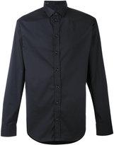 Armani Collezioni simple shirt - men - Cotton/Polyamide/Spandex/Elastane/Polyester - M