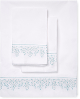 Melange Home Baby's Breath Embroidery Sheet Set