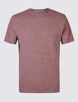 M&S Collection Pure Cotton Slim Fit Crew Neck T-Shirt