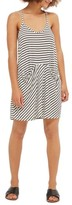 Topshop Women's Stripe Pocket Cover-Up Dress