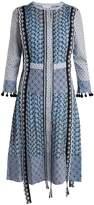 Altuzarra Grenelle broderie-anglaise patchwork cotton dress
