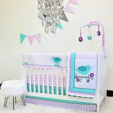 Pam Grace Creations Lovebirds 10 Piece Crib Bedding Set
