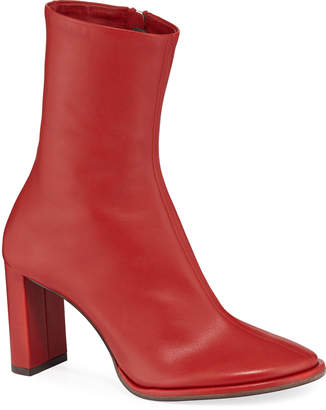 The Row 85mm Teatime Zip Leather Booties