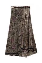 Preen Line Sasha Printed Skirt With Belt