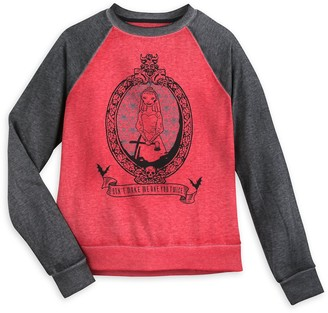 Disney The Haunted Mansion Raglan Sleeve Sweatshirt for Women