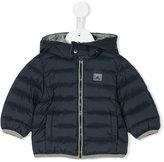 Armani Junior hooded puffer jacket