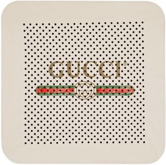 Gucci Baby logo cotton blanket