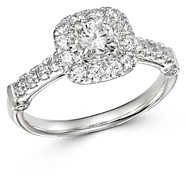 Bloomingdale's Diamond Engagement Ring in 14K White Gold, 1.0 ct. t.w. - 100% Exclusive