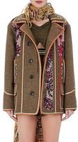 Maison Margiela Women's Sequined Wool Melton Coat