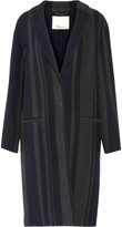 3.1 Phillip Lim Striped wool-blend coat