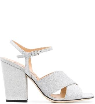 Sergio Rossi Glitter Sandals