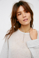 Luiny x Free People Womens TRAZO CHAIN COLLAR